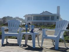 On The Beach - Situated in the scenic harbour town of Yzerfontein, On The Beach offers an idyllic seaside getaway to guests visiting the West Coast.  The property has 2 beachfront apartments.  The Luxury unit has one ... #weekendgetaways #yzerfontein #southafrica