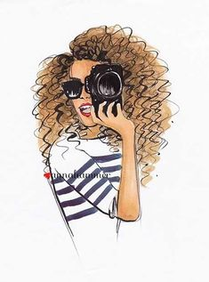 "Fashion Illustration ""Photographer"" #FashionIllustrations #FashionSketches"