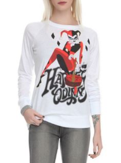 DC Comics Harley Quinn Girls Pullover Top - I'm a sucker for all things Harley <3 <3