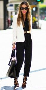 Jumpsuit with Blazer
