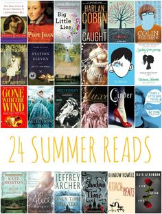 24 Books to Read This Summer. Here's your summer reading list!