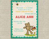 25 vintage circus invitations, kids, birthday, carnivale, carnival, children. via Etsy.