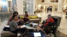 """Absi♿️1⃣9⃣7⃣1⃣ on Twitter: """"أجتماع كان حول تحضير لورشة عمل حول تدريب بريدج ميديا bridg media #حقوقنا_تجمعنا #زيكم_زينا #ليبيا #libya https://t.co/SXacGZrT1e"""""""