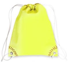 This neon yellow softball drawstring bag is created from authentic softball material. The neon yellow softball material is durable, puncture resistant, and virt Softball Party, Softball Crafts, Softball Quotes, Softball Pictures, Softball Players, Girls Softball, Softball Stuff, Softball Things, Girls Basketball