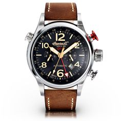Ingersoll Lawrence GMT Herren Automatikuhr IN3218BK Limitted Edition
