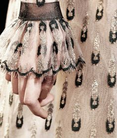 Designer of the Day: Rodarte (Victorian sleeves)--designers have a knack for detail!