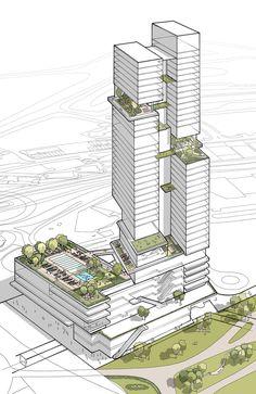 PORTFOLIO — JIM KEEN ILLUSTRATIONS Plan Concept Architecture, Model Architecture, Architecture Drawing Plan, Education Architecture, Green Architecture, Futuristic Architecture, Residential Architecture, Sustainable Architecture, Architecture Diagrams