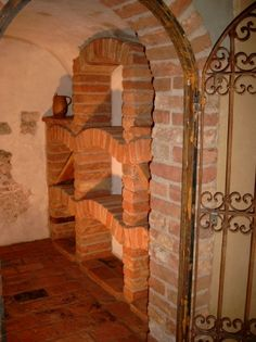 Home Wine Cellars, Cellar Design, Ice Houses, Root Cellar, Small Basements, Spring Home, Small Basement Bars, Sweet Home, Architecture