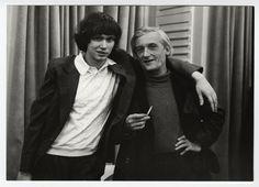 Pilinszky János és a fiatal Kocsis Zoltán