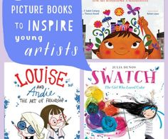 The newest books from 2016 that will inspire kids to paint, doodle, glue, collaborate, photograph, build, collect, dance, and more.