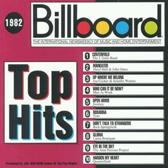 1982 Billboard Magazine Top Hits