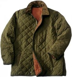 The essential quilted jacket... this one, by Barbour.