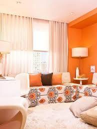 Image result for tangerine living room