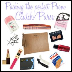 Packing the Perfect Prom Night Purse/Clutch