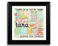 SO cute! Alpha Chi Omega