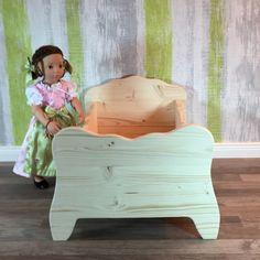 altes zuckers es vintage puppenbett vintage. Black Bedroom Furniture Sets. Home Design Ideas