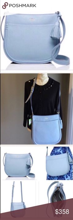 Kate Spade Orchard Street Hemsley greyskies NWT Kate Spade Orchard Street Hemsley greyskies NWT. Dimensions could have very slight variations.   Photos from the Internet could vary slightly from the item that is being shipped  NO TRADES MSRP $358+tax. kate spade Bags