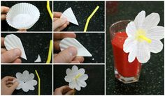 "How and What Do Butterflies Eat? Strawberry ""Nectar"" recipe plus flower straw for kids - offtheshelfblog.com"