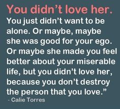 that's not love