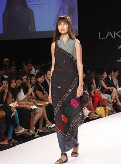 Lakme Fashion Week Summer 2014 a place where a lot of color full dresses, faces and personalities combine together and display their awesome collection.