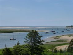 View toward Fish Pier in Chatham, Cape Cod