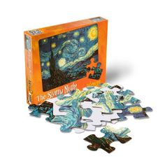 Puzzles Plus The Starry Night Van Gogh 24 Piece Jigsaw Puzzle