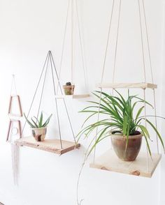 Handmade Tiered Wood Shelf- double, single, plant hanger by ethanollie on Etsy https://www.etsy.com/listing/236483125/handmade-tiered-wood-shelf-double-single