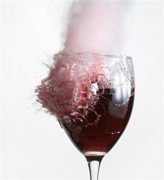 Moment of Impact by DJC via dpreview #Photography #Wine_Glass #Impact