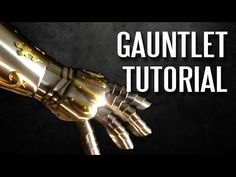 DOWNLOAD THE TEMPLATE AT THE LINK http://armortemplates.com/ Learn how to make your own gauntlet in this easy to follow armor tutorial. Make this armor in yo...