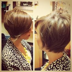 #hair #haircut #hairstyle #hairstylist #shorthair #shorthaircut #shorthairstyle #bangs #bangstyle #layers #texture #bobhaircut #style #trendy #fashion #thisismyart - @dillahaj- #webstagram
