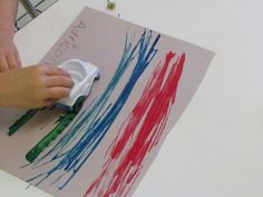 Why should I do that same old boring art activity in preschool  --- love this explanation and the reminder to paint with cars