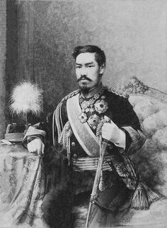 Japan - Emperor Meiji in whose name imperial rule was restored at the end of the Tokugawa shogunate