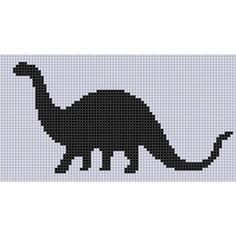 Dinosaur 6 Cross Stitch Pattern