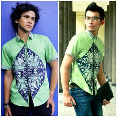 Mavazi menswear, Javanese Contemporer Batik pattern & fabric for spring - summer