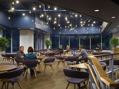 Allermuir Mollie at linkedin-sunnyvale-office. It could be a fine dining restaurant, great look. Loving your work AP+I Design