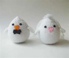 Knitted Mr & Mrs