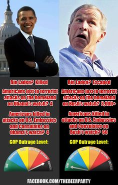 Bush and Obama learn the facts