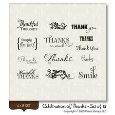 Celebration of Thanks - Verve Stamps Inspiration Gallery