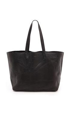 a112ddf7e03 Black Leather Tote, Tote Handbags, Purses And Handbags, Tote Bags, Shoulder  Bag