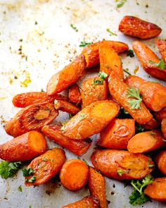 Oven Roasted Carrots Side Dish Recipes, Vegetable Recipes, Vegetarian Recipes, Dinner Recipes, Cooking Recipes, Healthy Recipes, Carrot Recipes, Cabbage Recipes, Healthy Meals
