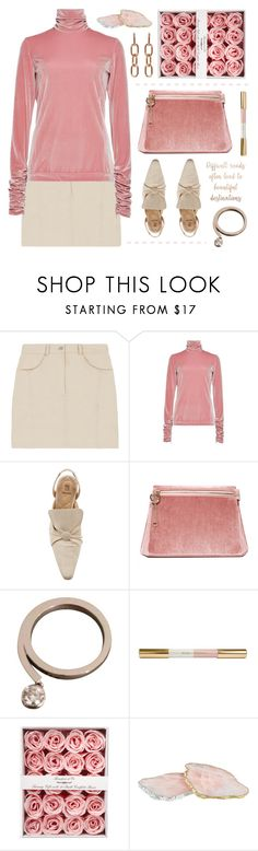 """rose velvet"" by deepwinter ❤ liked on Polyvore featuring Delpozo, Rosie Assoulin, Cafuné, Chaumet, RabLabs and Alexander Wang"