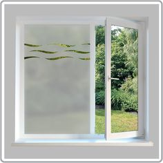 White Frost Privacy window film Made in usa   48 inch x 5 ft