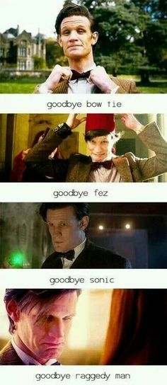 The feels... Goodbye Raggedy Man - Doctor Who