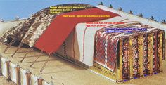 """The Mishkan: Mobile Moving Tabernacle"""" by Ariel Ehrmantrout ..."""