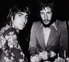 Keith Moon & Pete Townshend LOVE THIS PHOTO!!!