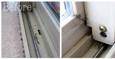 How to Clean Gross Windows and Doors