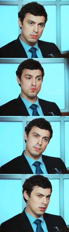 Dr. Lance Sweets [John F. Daley] << ahah, I love him! both the character anch the actor
