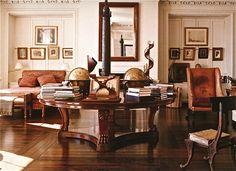 Manhattan apartment of the late Bill Blass.