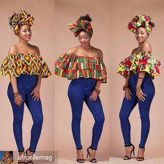 ~DKK ~African fashion, Ankara, kitenge, African women dresses, African prints… Remilekun - African Styles for Ladies African Fashion Ankara, African Fashion Designers, African Inspired Fashion, African Print Fashion, Africa Fashion, Ghanaian Fashion, African Dresses For Women, African Print Dresses, African Attire