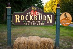 Vergers Rockburn Orchards apple farm